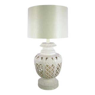 Large 3 Way Blanc De Chine Table Lamp