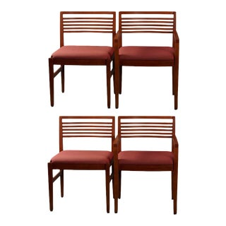 Set of Four Chairs by Linda and Joseph Ricchio for Knoll Studio