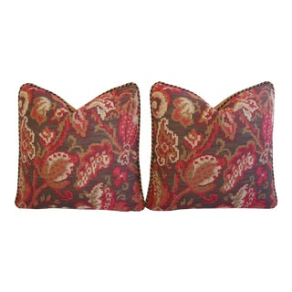 Lee Jofa Mulberry Tapestry Pillows - A Pair