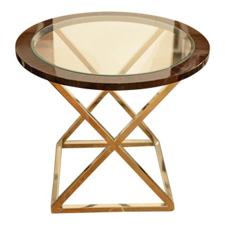 Thomas & Gray Side Table Pair Available