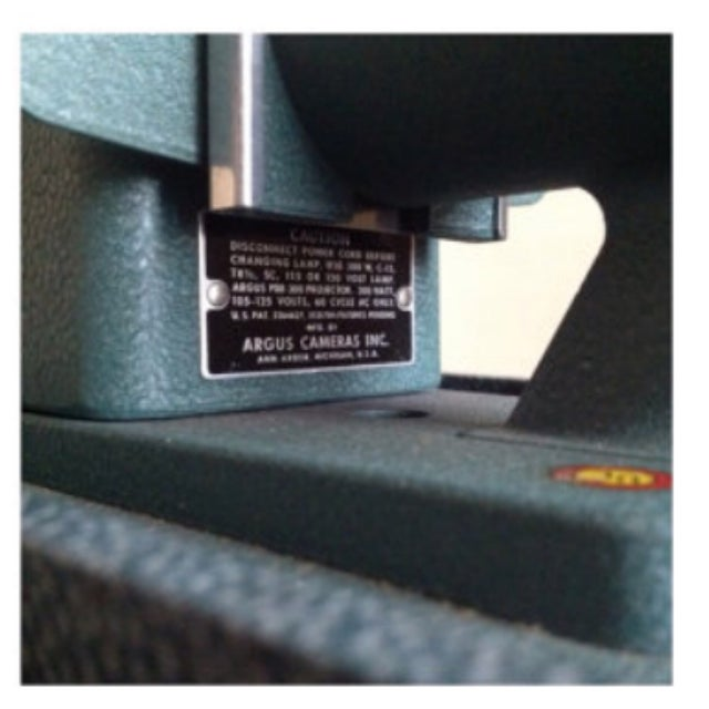 argus 300 slide projector instructions
