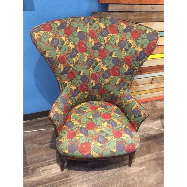 1930 Mahogany Club Chair - Image 2 of 4