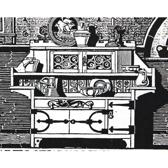 1910s Kitchen Advertisement Wood Block Print - Image 4 of 5