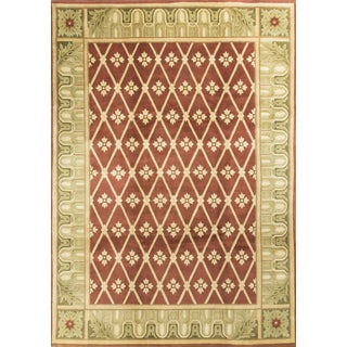 "Contemporary Hand Knotted Wool Rug - 8'11"" x 12'4"""