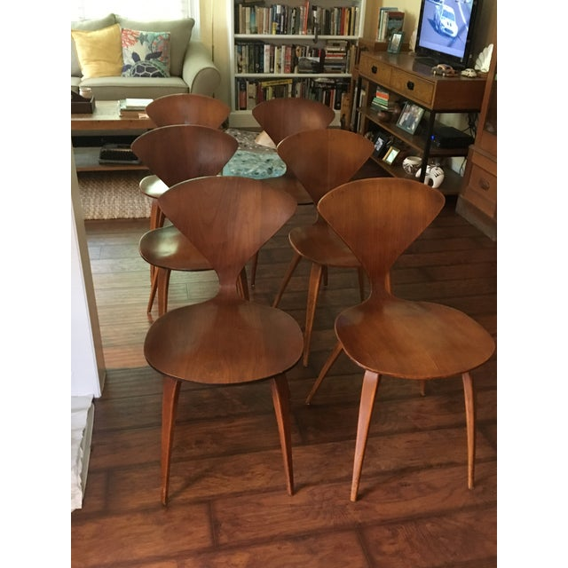 Mid-Century Modern Norman Cherner for Plycraft Chairs - Set of 6 - Image 2 of 8