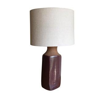 Brent Bennett Style Vintage Ceramic Table Lamp