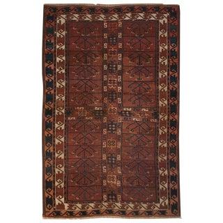 19th Century Bashir Rug - 3′7″ × 5′