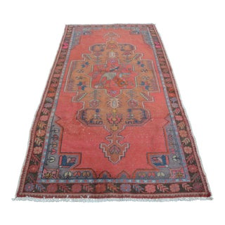 Turkish Oushak Faded Rug - 4′6″ × 8′8″