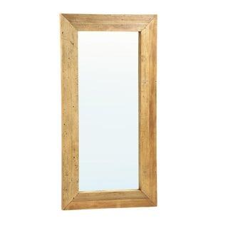 Rustic Full-Length Wooden Mirror