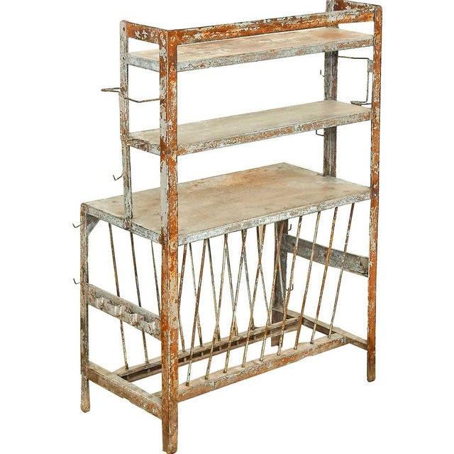 Image of Rustic Chic Vintage Iron Rack