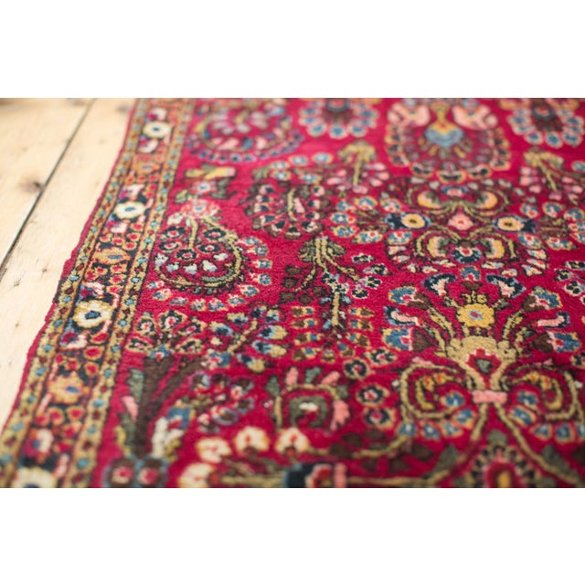"Image of Persian Sarouk Rug - 2'5"" X 4'9"""