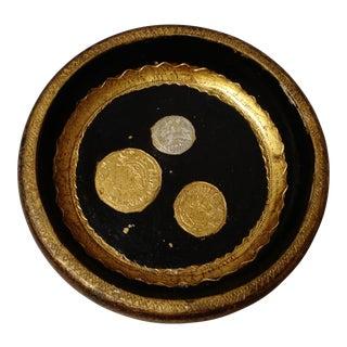 Vintage Florentine Coin Dish