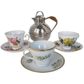 Tea Cups & Teapot for 3