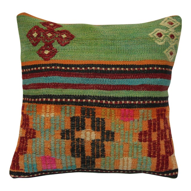 "Kilim Pillow Case 16"" - Image 1 of 5"