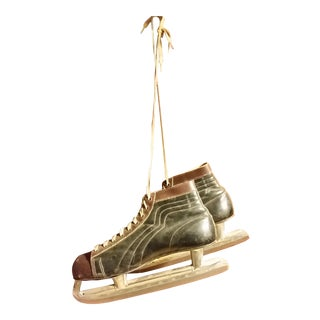Vintage Men's Ice Skates - a Pair