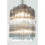 Image of Sciolari Style Clover Glass Chandelier