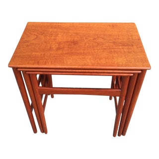 Hans Wegner Nesting Tables - Set of 3