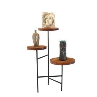 Tri Leg Three-Tier Side Display Table Planter