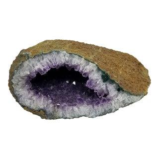 Purple Amethyst Crystal Geode