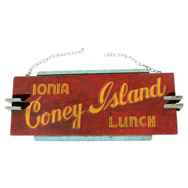 Coney Island Diner Sign - Image 1 of 5