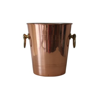French Copper Champagne Bucket