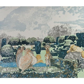 Peaceable Kingdom Revisited Lithograph
