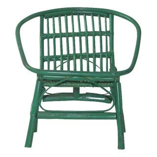 Laguna Rattan Arm Chair in Green