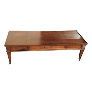 Henredon Coffee Table on Casters