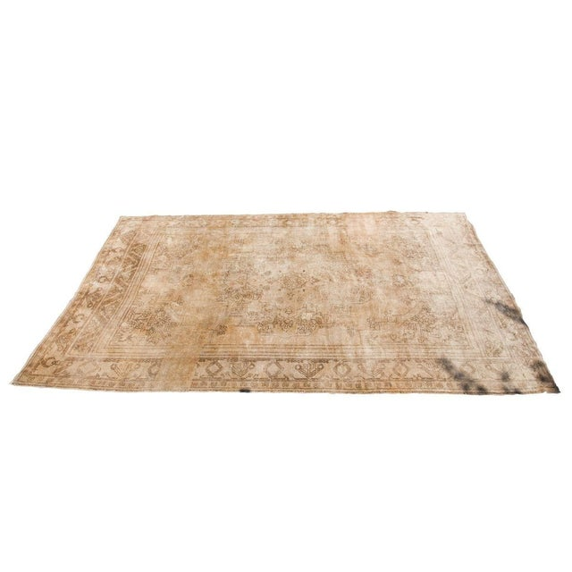 "Vintage Oushak Carpet - 6'10"" x 11'2"" - Image 6 of 6"