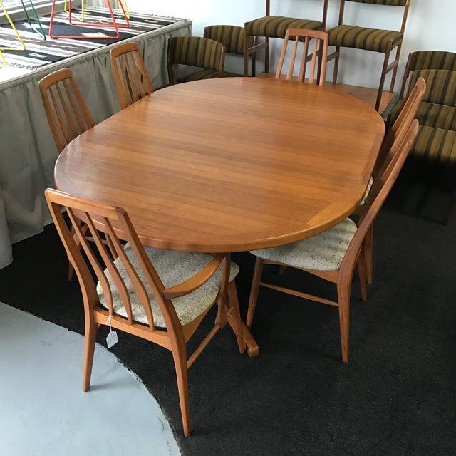 Koefoeds Hornslet Danish Modern Dining Set   Image 3 of 11. Koefoeds Hornslet Danish Modern Dining Set   Chairish