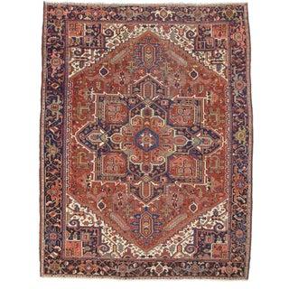 Rugsindallas Antique Persian Karajeh Rug - 9′2″ × 10′