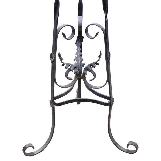 Image of Wrought Iron Victorian Plant Stand