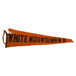 White Mountains, NH Felt Flag Banner