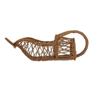 Wicker Wine Bottle Basket