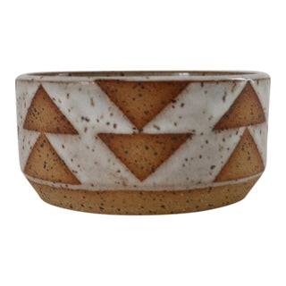 Geometric Ceramic Bowl
