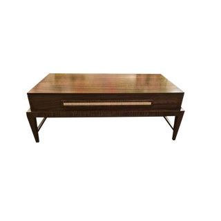 Transitional Rectangular Coffee Table