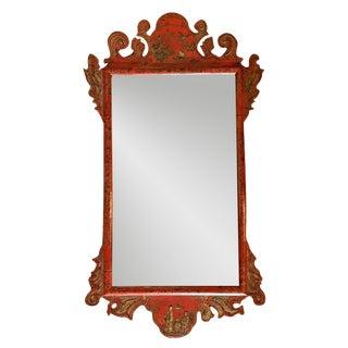 19th Century English Chinoiserie Mirror