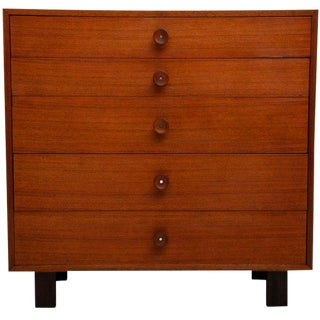 George Nelson Tall Dresser for Herman Miller