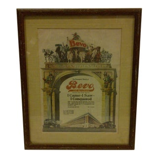 1910 Antique Anheuser Busch Advertising Print