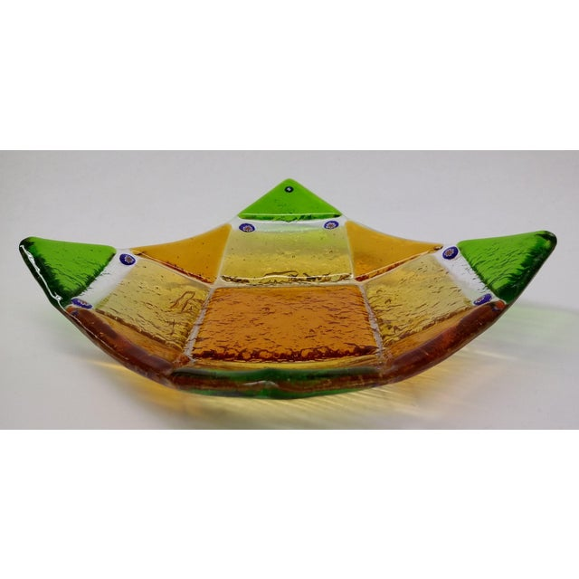 Millefiori Murrine Glassl Plate by Ercole Moretti - Image 7 of 8