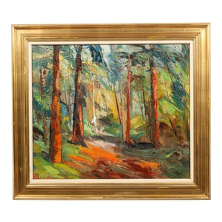 "Impressionist Painting ""Light Through The Trees"""