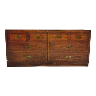 Vintage Dixie Furniture Campaign Dresser