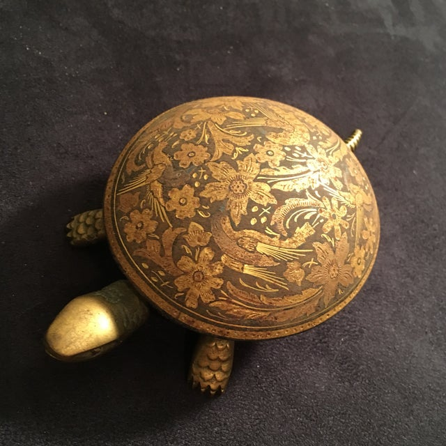 Antique Boj Eibar Bell Ring Service Turtle - Image 4 of 6