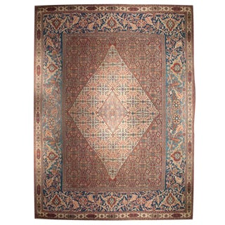 Early 20th Century Doroksh Herati Carpet