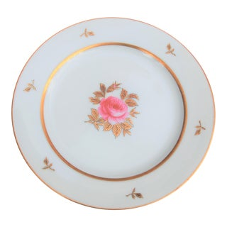 Vintage Handpainted Rose Plate by Noritake China