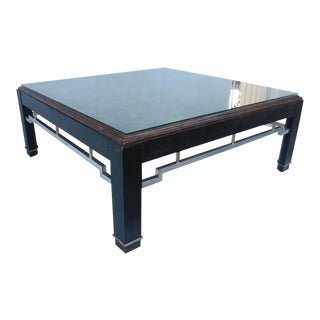 John Stuart Burlwood Square Coffee Table