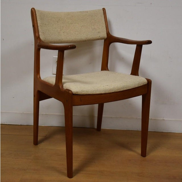 Mid-Century Teak Side Chair - Image 2 of 11