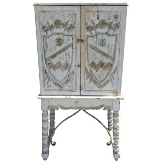 English Country Painted Cabinet