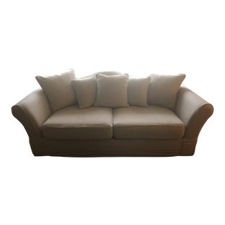 Restoration Hardware Camelback Slipcovered Sofa