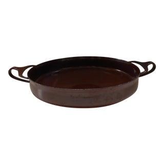 Vintage Dansk Brown Pan